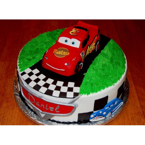 Car Race Lover cake
